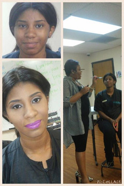 Facebook - I had a great time doing a beauty basics class at KS today! Thank you