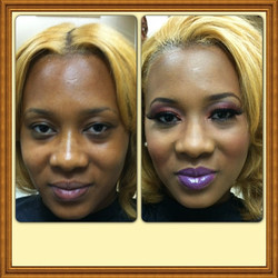 Instagram - Loved working with @fancybmonroe! #beforeandafters #mua #makeup #pho