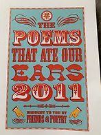 Poems That Ate Our Ears 2011 Cover