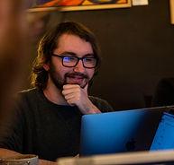Harrison at computer.jpg