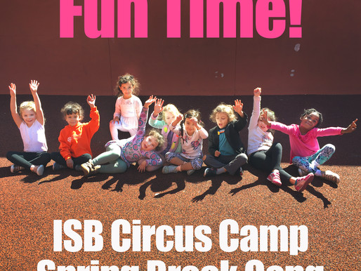 What Happened in our Shape Art Circus Camp this Spring?