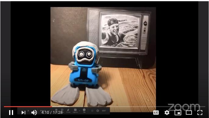 French Beanstalk Hour: le robot qui voulait nager