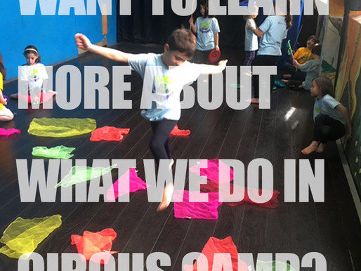 Want To Learn More About What We Do In Circus Camp?