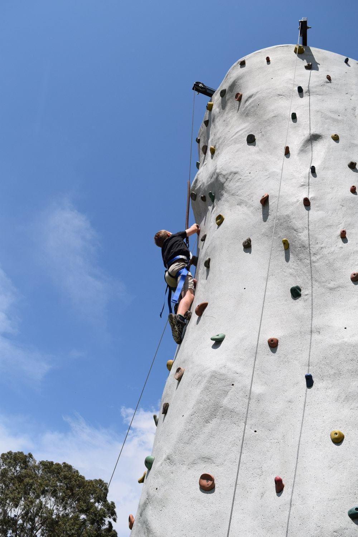 Rock Wall Climbing - 2015 Festival