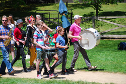 CoCoSounds & HanzOn Drumming leading the