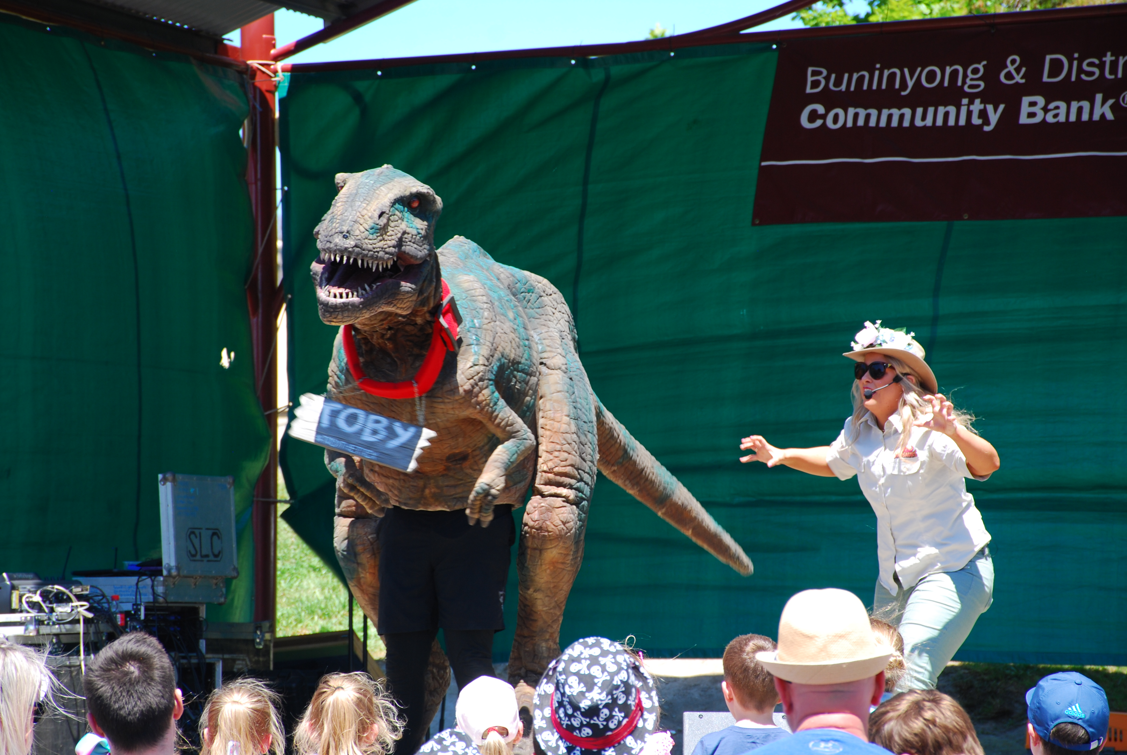 Toby the Dinosaur - 2017 Festival