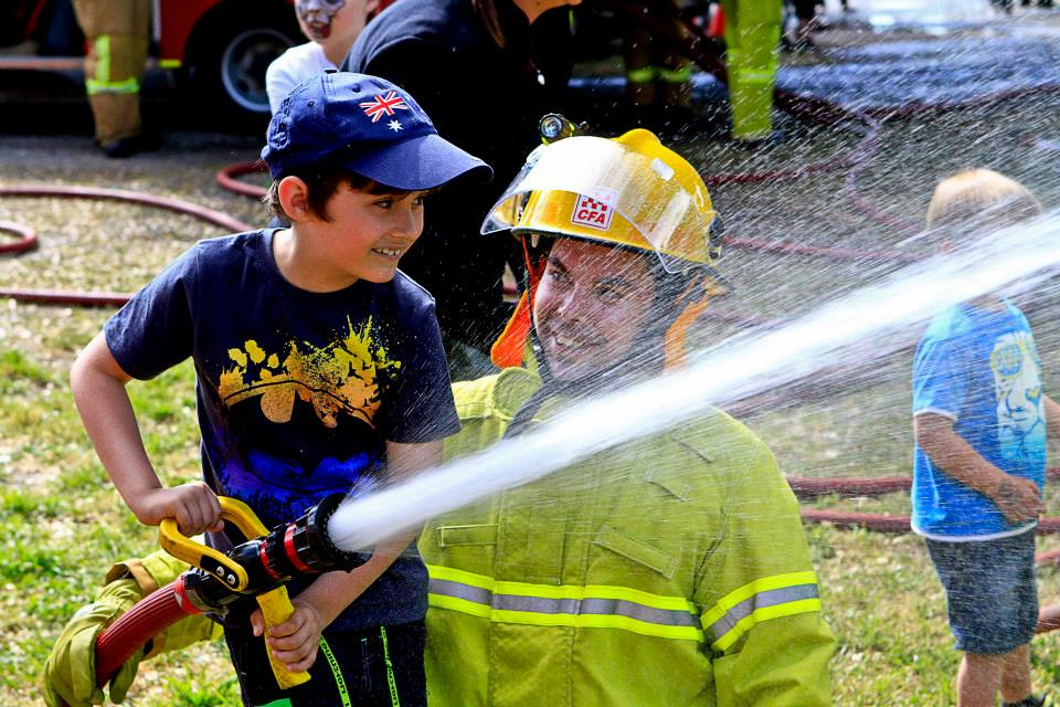 Buninyong & Mt Helen CFA Display - 2015