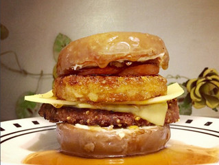 The Donut Breakfast Burger