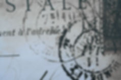Letter-Marked-with-Rubber-Stamp