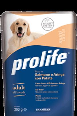 Alimento umido per cani PROLIFE WET ADULT cf da 300g