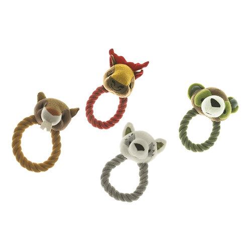 Giochi per cani con anello in corda
