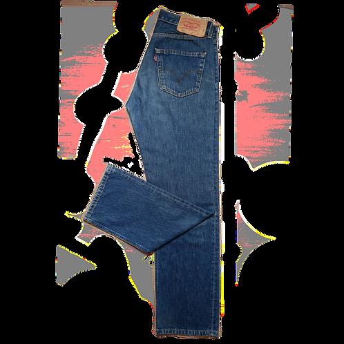 LEVI'S 501 DENIM BLUE L