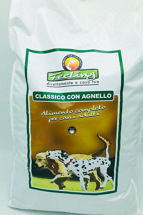 Crocchette classiche per cani adulti con AGNELLO e RISO sacco da 15 kg