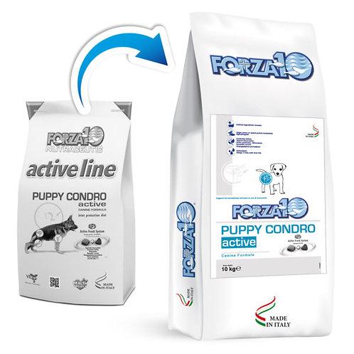 Crocchette per cuccioli PUPPY CONDRO ACTIVE Forza10 sacco da 10kg