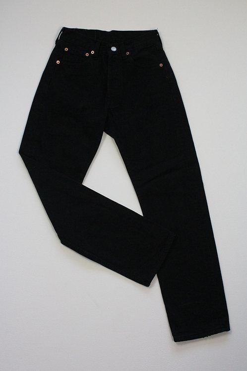 BLACK LEVI'S 501 XS
