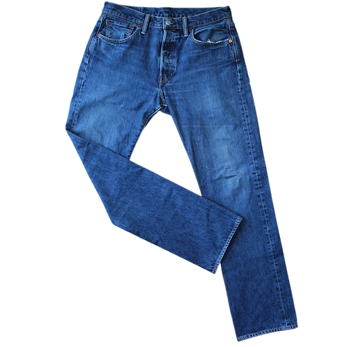 LEVIS 501 L MID BLUE L