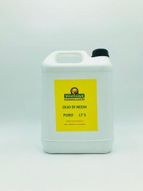 OLIO di NEEM PURO 5 litri