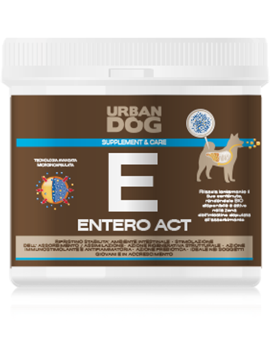 Integratore ENTERO ACT Urban Dog per cani