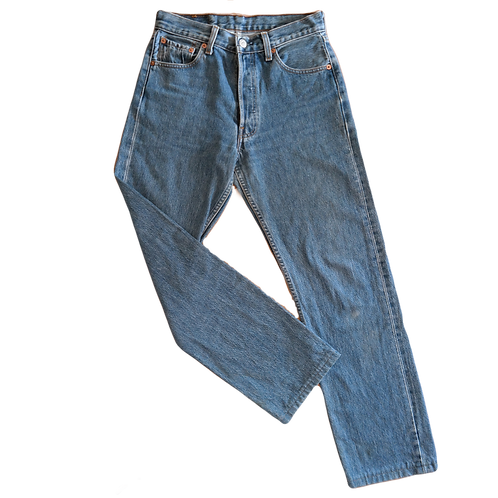 LEVI'S 501 MID BLUE S