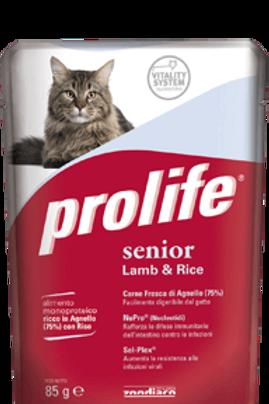 Prolife SENIOR alimento umido completo per gatti anziani 85 g