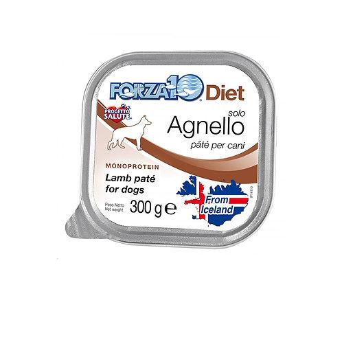 Alimento umido per cani Solo Diet Forza10 vaschetta da 300 g