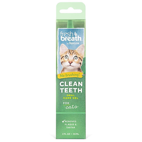 Gel rimuovi tartaro per i denti del vostro GATTO- FRESH BREAT 59 ml