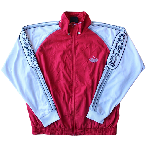 ADIDAS 90s SPELLOUT SLEEVE TRACK TOP