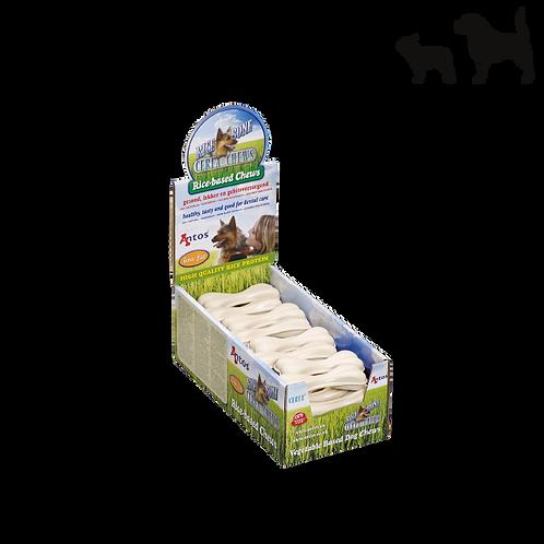 OSSO AL RISO snack dentale per cani 11 cm