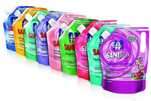 Detergente igienizzante per pavimenti SANIBOX 1L