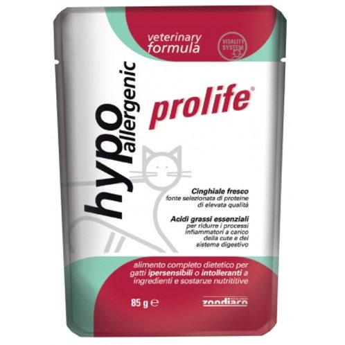 Alimento umido completo Prolife Hypoallergenic per Gatti 85 g