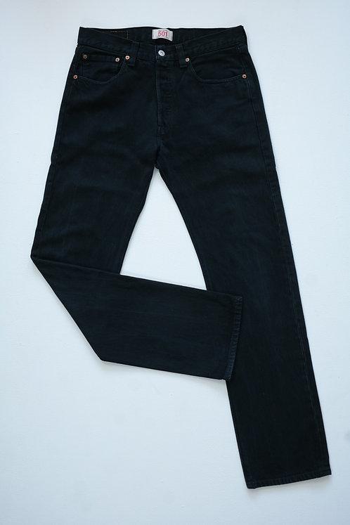 BLACK LEVI'S 501 L
