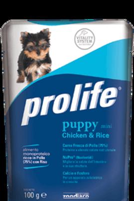 Alimento umido per cuccioli PROLIFE WET PUPPY MINI da 100g