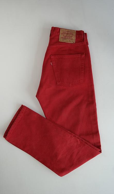 RED LEVI'S 501 M