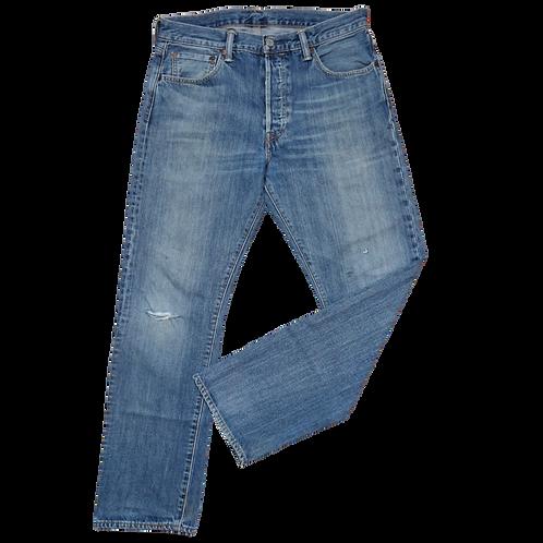 LEVI'S 501 MID BLUE L