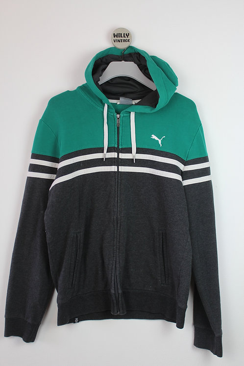 PUMA HOODED ZIPPER