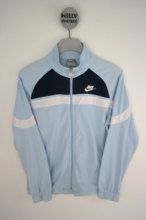 NIKE BABY BLUE Y2K TRACK TOP XS