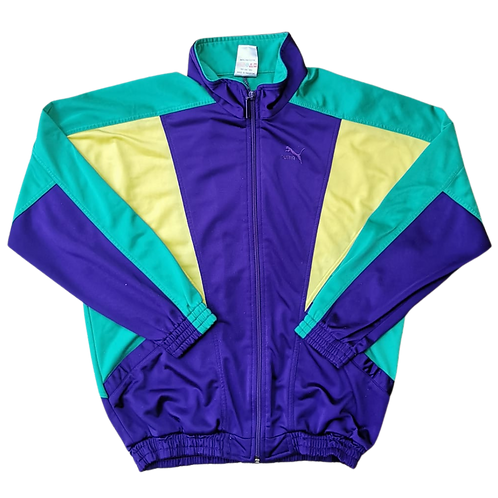 PUMA COLORBLOCK TRACK TOP XS