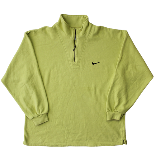 NIKE 1/4 ZIP SWEATER  XL