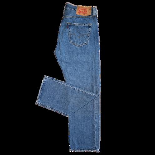 LEVI'S 501 MID BLUE XL