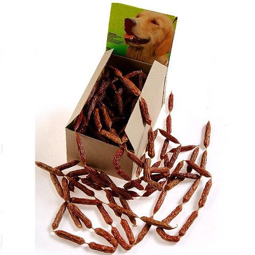Salsiccie di Manzo snack per cani 25 pz