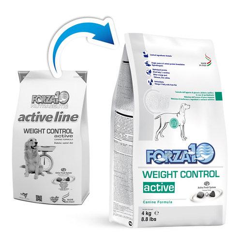Crocchette per cani WEIGHT CONTROL ACTIVE Forza 10 sacco da 4kg