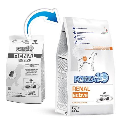 Crocchette per cani RENAL ACTIVE Forza10 sacco da 4kg