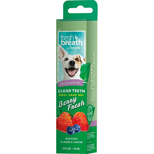 Gel rimuovi tartaro per i denti del vostro cane- FRESH BREAT 59 ml