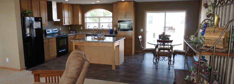 Ponderosam Kitchen Dining Living Room