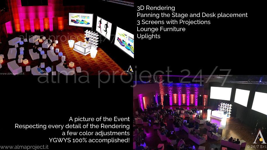 ALMA PROJECT 24/7 - Rendering Il Ciocco Country Resort