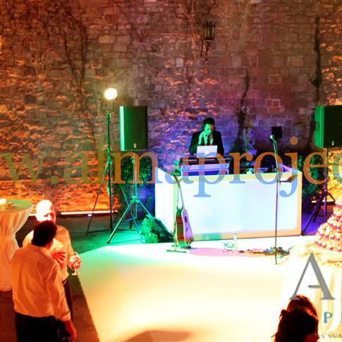 Alma Project 24/7 - Dancefloor, Dj Set, Moving Heads, Eva Console Light, Uplights