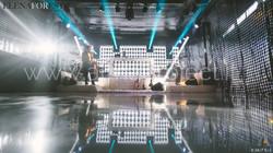 ALMA PROJECT _ Villa Medicea di Lilliano - BRILLIANT - Ledwall - Stage - PVC Glossy Dancefloor - MH
