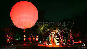 ALMA PROJECT 24/7 @ Four Seasons Hotel Florence - Balloon Show - Uplights