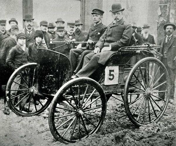 Evanston First Auto Race