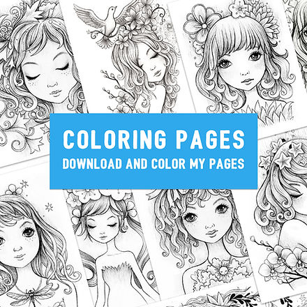 Coloring Pages by Jeremiah Ketner